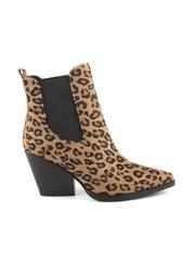 Ciocate femei Enzo Bertini leopard print din piele cu toc mediu 1128DG2119LEO