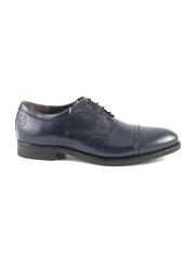 pantofi barbati benvenuti bleumarin din piele 718bp7502bl