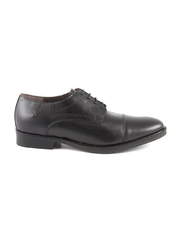 pantofi barbati benvenuti din piele negri 718bp4467n