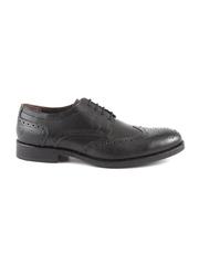 pantofi barbati benvenuti negri din piele 718bp5795n