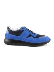 Pantofi barbati Enzo Bertini albastru electric cu nergu din piele intoarsa 2529BP0600VBL
