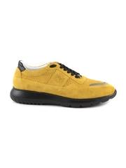 Pantofi barbati Enzo Bertini galbeni din piele intoarsa 2529BP0600VG