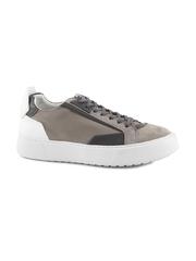 Pantofi barbati Enzo Bertini gri cu alb din piele 2529BP0064GR