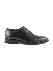 pantofi barbati enzo bertini negri din piele 3688bp50460n