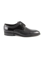 pantofi barbati enzo bertini negri din piele 3688bp82212n