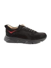 pantofi barbati enzo bertini negri din piele 3698bp2354n