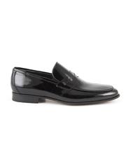 Pantofi barbati Enzo Bertini negri din piele cu aspect lacuit 3687bp42610ln