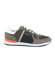 Pantofi barbati Pepe Jeans verzi din piele intoarsa 3197bp30508vka