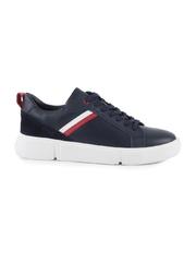 pantofi barbati thezeus bleumarin din piele 2129bp1071bl