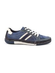 Pantofi barbati Thezeus bleumarin din piele intoarsa 617bp920004vbl