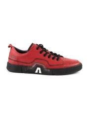 pantofi barbati thezeus rosii din piele 2109bp2706r