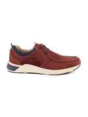 Pantofi barbati Thezeus rosii din piele 619bp480004r