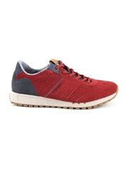 Pantofi barbati Wrangler rosii din piele intoarsa 2297bp1052vr