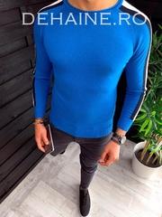 Bluza barbati slim fit albastra ZR 3644 N7-1