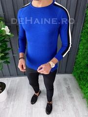 Bluza barbati slim fit albastra ZR A3652 N7-3