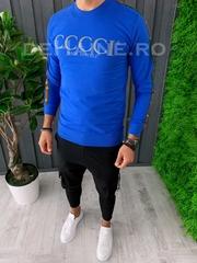 Bluza barbati slim fit albastra ZR A6264