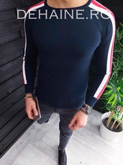 Bluza barbati slim fit bleumarin ZR 3653 J3-3