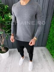Bluza barbati slim fit gri ZR A6846 P5-2