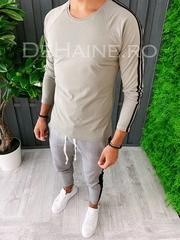 Bluza barbati slim fit kaki ZR A5910 90-2