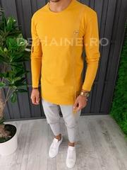Bluza barbati slim fit mustar premium ZR A6633 107-2
