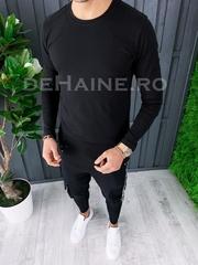 Bluza barbati slim fit neagra ZR A6858 P16-4