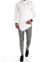 Camasa barbati asimetrica eleganta ZR A1005