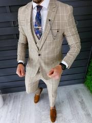 Costum barbati slim fit + Vesta ZR A8670 S27