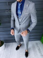 Costum barbati slim fit + Vesta ZR A8711 S28