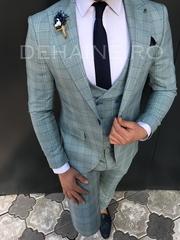 Costum barbati slim fit + vesta ZR A8843 S27
