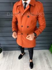 Palton barbati de primavara slim fit A8692
