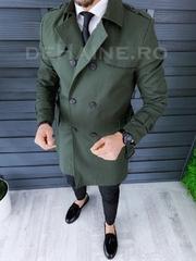 Palton barbati de primavara slim fit A8700
