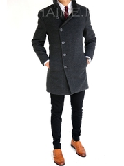 Palton barbati iarna gri 7397 S36