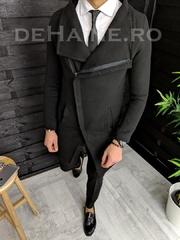 Palton barbati negru A3321 T14
