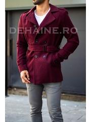 Palton barbati primavara slim fit A7014 S28