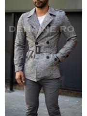 Palton barbati primavara slim fit A7015