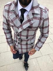 Palton barbati primavara slim fit A7019 S21