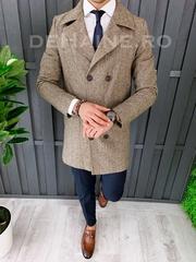 Palton barbati primavara slim fit A7024 S30
