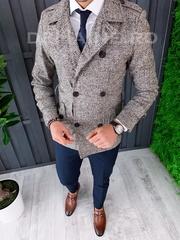 Palton barbati primavara slim fit A7025 S21