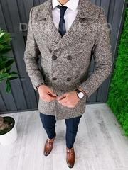 Palton barbati primavara slim fit A7029 S31