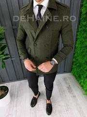 Palton barbati primavara slim fit A7033 S22