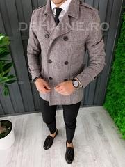 Palton barbati primavara slim fit A7036 S20