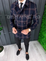 Palton barbati primvara slim fit A7887 S35