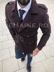 Palton barbati toamna slim fit A6512 S21