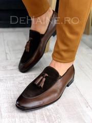 Pantofi barbati din piele naturala A4306