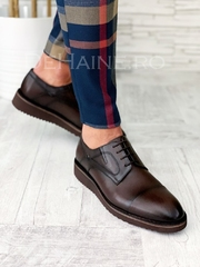 Pantofi barbati din piele naturala A5079