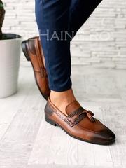 Pantofi barbati din piele naturala A5845