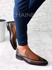 Pantofi barbati din piele naturala A5849