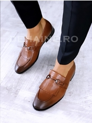 Pantofi barbati din piele naturala A6658