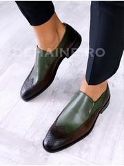 Pantofi barbati din piele naturala A6663