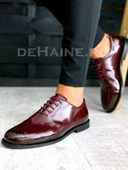 Pantofi barbati grena A3660